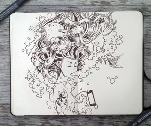 ariel, cool, and draw image