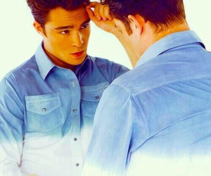 boy, ed westwick, and chalet girl image