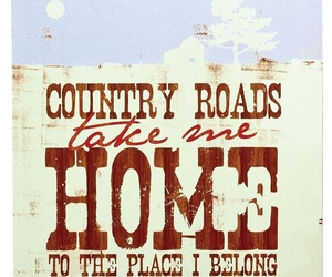 country, country life, and Lyrics image