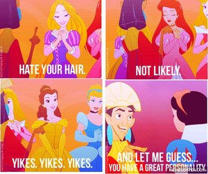 ariel, belle, and kuzco image