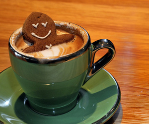 coffee, cookie, and food image