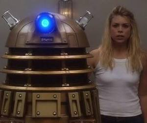 Dalek, doctor who, and rose tyler image