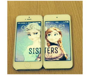 iphone, ipod, and sisters image