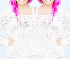 demi lovato, pink, and sweet image