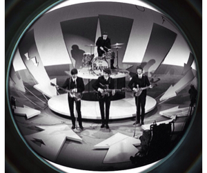 band, black and white, and ☝️ image