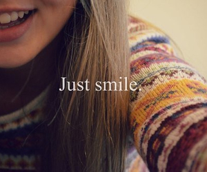 smile, happy, and just smile image