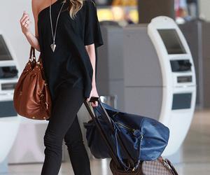 fashion, bag, and airport image