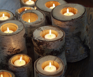 candle, beautiful, and light image
