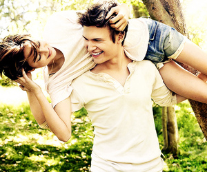 the fault in our stars, ansel elgort, and Shailene Woodley image