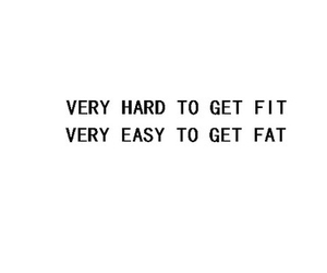fat, fit, and quotes image