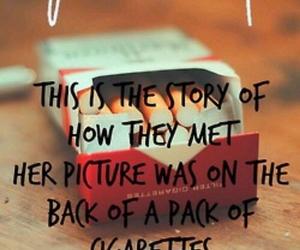 fall out boy, Lyrics, and cigarette image