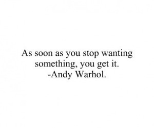 quotes, andy warhol, and text image