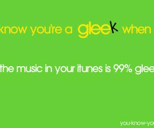 glee and gleek image