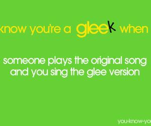 glee, fun, and song image