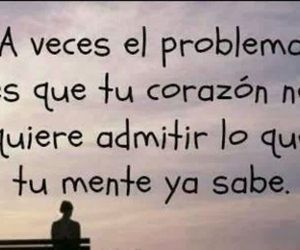frases, corazon, and problema image
