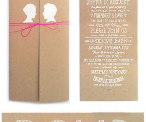 design, invitations, and handlettering image