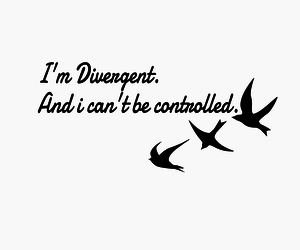 books, insurgent, and divergent image