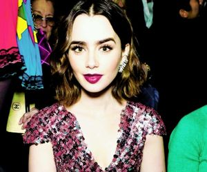 lily collins and cute image