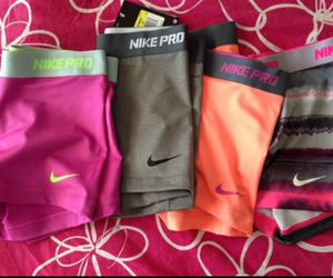 nike, nike pro, and shorts image
