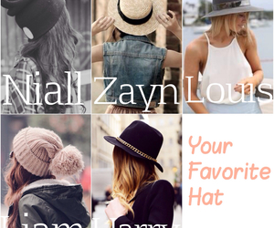 fashion, preferences, and hat image