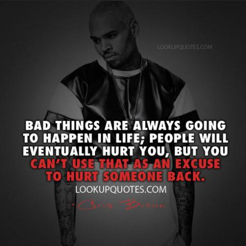 Chris Brown Quotes Interesting 48 Images About Chris Brown Quotes On We Heart It See More About