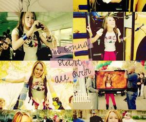 miley cyrus, start all over, and miley ray cirus image