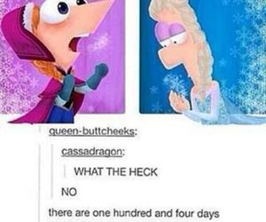 frozen, phineas, and ferb image