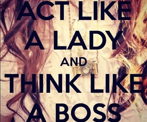 boss, lady, and girl power image