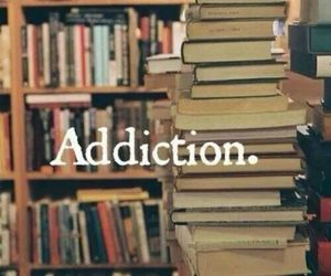 book, addiction, and read image