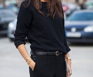 black, mode, and sexy image