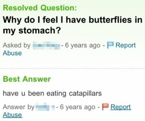 butterfly, funny, and caterpillar image
