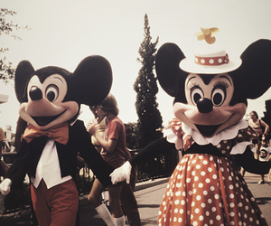 disney, vintage, and mickey image