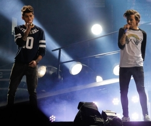 1d, niall horan, and louis tomlinson image