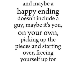quotes, happy, and happy ending image