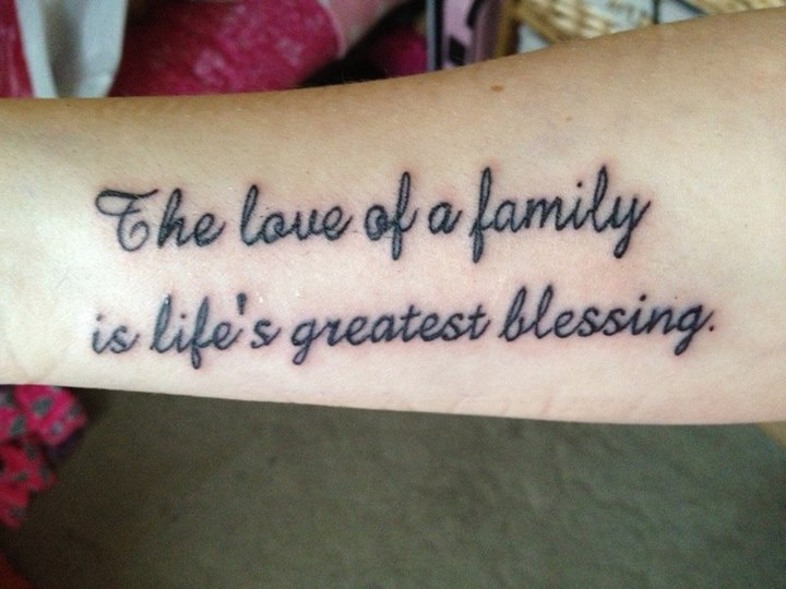 Family tattoo! shared by marissa on We Heart It