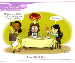 disney, pocket princesses, and mulan image