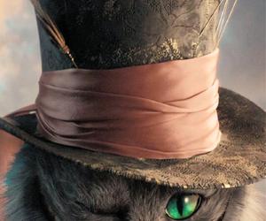 alice in wonderland, cat, and wonderland image