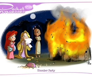 pocket princesses, disney, and ariel image