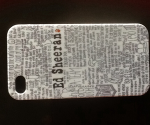phone case, ed sheeran, and ed sheeran phone case image