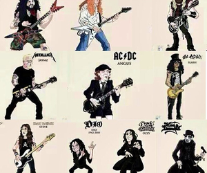 ac dc, Black Sabbath, and dave mustaine image