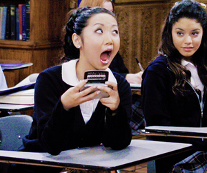 vanessa hudgens, brenda song, and the suite life image
