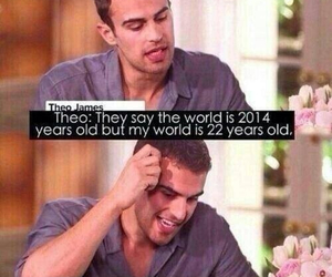 theo james, divergent, and sheo image