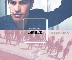 divergent, dauntless, and theo james image