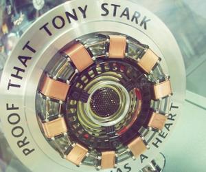 iron man, tony stark, and heart image