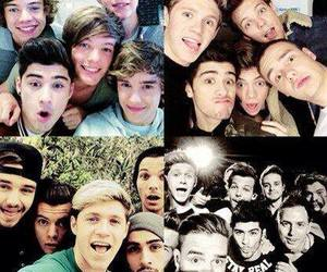 one direction, niall horan, and selfie image