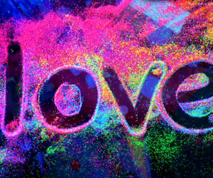 love and neon image