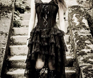 goth, gothic, and gtyoic image