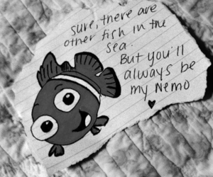 nemo, love, and fish image