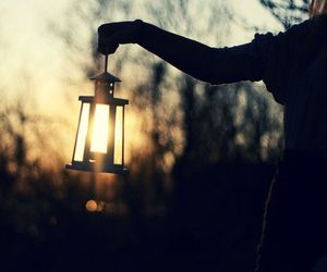 light, photography, and lantern image