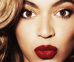 beyoncé, red, and lips image